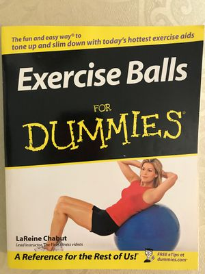 Exercise Balls For Dummies for Sale in Humble, TX