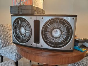 2 12 inch Polk audio Subwoofers for Sale in Happy Valley, OR
