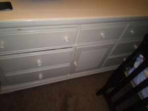 Cottage White solid dresser for Sale in Sioux City, IA