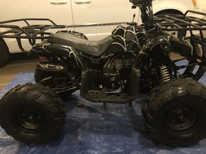 125cc Coolster black spider 4-wheeler for Sale in Crest Hill, IL