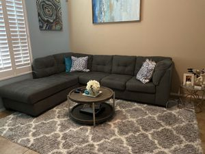 Blue sectional couch from living spaces for Sale in Phoenix, AZ
