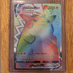 Rainbow Rare Pikachu Vmax for Sale in Nevada,  IA