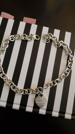 Sterling Silver Tiffany's choker chain for Sale in Greater Landover, MD
