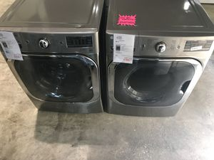 LG mega capacity steam front load set. Over $2,700 retail value. Take home for $50 down with our no credit check interest free financing! for Sale in Houston, TX
