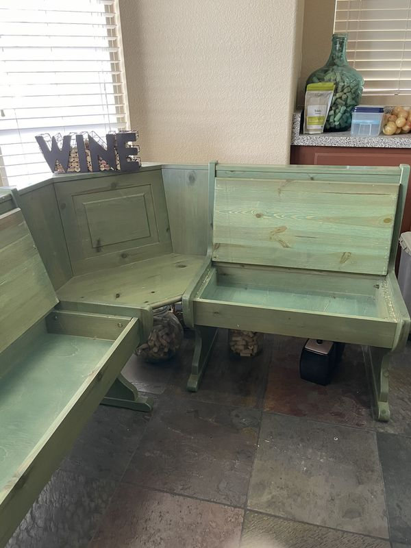 Italian Pine Kitchen Table set