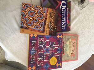 (4) Different Quilting Books for Sale in Los Angeles, CA