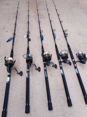 Penn fishing reels...8000 & 6000 sizes...170.00 EACH for Sale in Pembroke Pines, FL