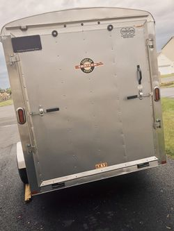 🍁2014 Carry-On🍁 Trailer🍁 Corp 6X12 For sale. Good condition🍀 for Sale in Wichita,  KS