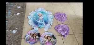 Disney Frozen party set and extra for Sale in Buckeye, AZ