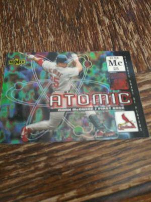 Mcgwire atomic 2000 card for Sale in Wichita, KS