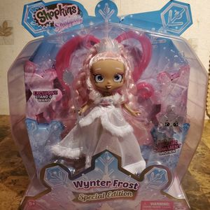 Shopkins Shoppies Wynter Frost Doll Special Edition 2020 Exclusive Stand & Wand for Sale in Florissant, MO