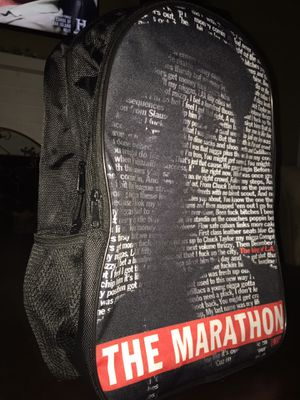 Nipsey Hussle laptop docking backpack for Sale in Rancho Cucamonga, CA