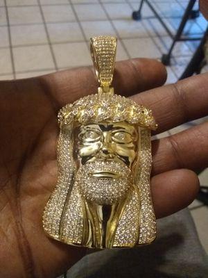 Gold filled Jesus piece pendant for Sale in Hartford, CT