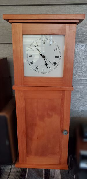 Clock Cabinet with storage Shelves for Sale in Orange, CA
