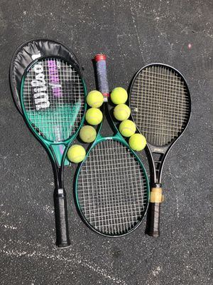 Wilson, Prince tennis racquet for Sale in Lake Worth, FL