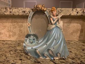 Disney Princess Cinderella frame with globe for Sale in Elkridge, MD