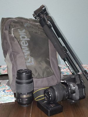 Nikon DSLR Camera (bundle) for Sale in North Port, FL