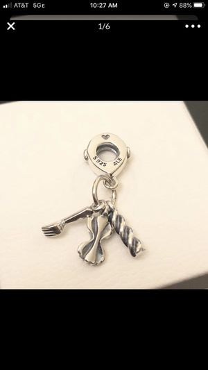 2 set - Pandora spaghetti and sister charm for Sale in Fontana, CA