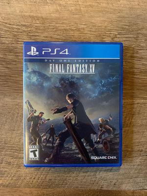 Final Fantasy XV PS4 for Sale in Charlotte, NC