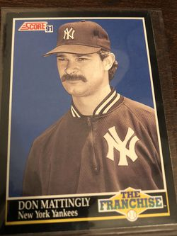 Don Mattingly The Franchise Baseball Card for Sale in Modesto,  CA