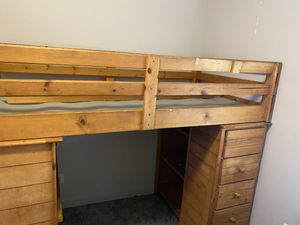 Twin bunk bed/loft for Sale in Lehi, UT