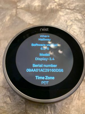 Nest 3rd generation thermostat for Sale in Covina, CA