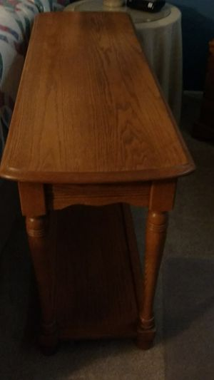 Oak sofa table for Sale in Sun City, AZ