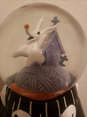 Disney The Nightmare Before Christmas Zero Musical Snow Globe for Sale in Tampa, FL
