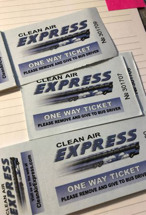 Clean Air Express bus pass for Sale in RANCHO SUEY, CA