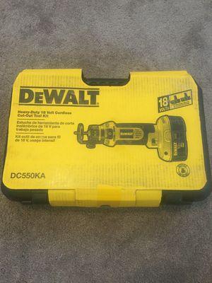 Dewalt DC550KA 18v Cordless Cut Out Tool for Sale in Austin, TX