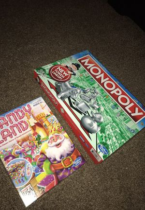 Monopoly & Candy Land Board games for Sale in Reynoldsburg, OH