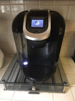 Keurig 2.0 pod coffee maker with glass pod holder for Sale in City of Industry, CA
