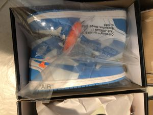 UNC off white Jordan retro 1s for Sale in FORT LAUDERDALE, FL