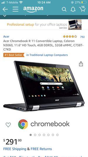 Touchscreen Chromebook laptop for Sale in Longwood, FL
