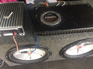 Subs and amps for Sale in Quincy, IL