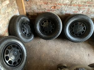 10 hole mustang wheels with tires 4x108 for Sale in Cleveland, OH