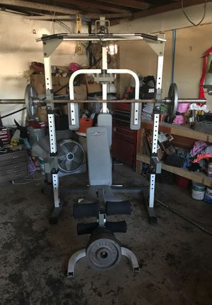 Tuff stuff alipical weight set for Sale in Moreno Valley, CA