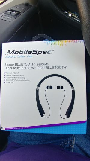 Mobile Spec stereo bluetooth earbuds... for Sale in Salt Lake City, UT