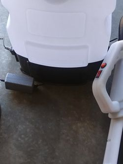 Brand New Electrostatic Sprayer, Hazmamt Suits, N95 Mask, (2) 5 Gallon Containers Of Disinfectant Solution for Sale in Stonecrest,  GA