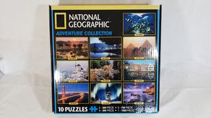 National geographic adventure collection puzzle game 10 in 1 kit New and sealed bags for Sale in National City, CA