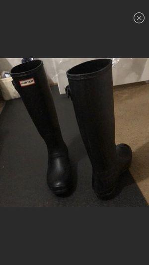 Hunter Rain Boots Black for Sale in Graham, NC