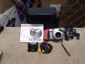 Toshiba Digital Camera with case for Sale in Melbourne, FL