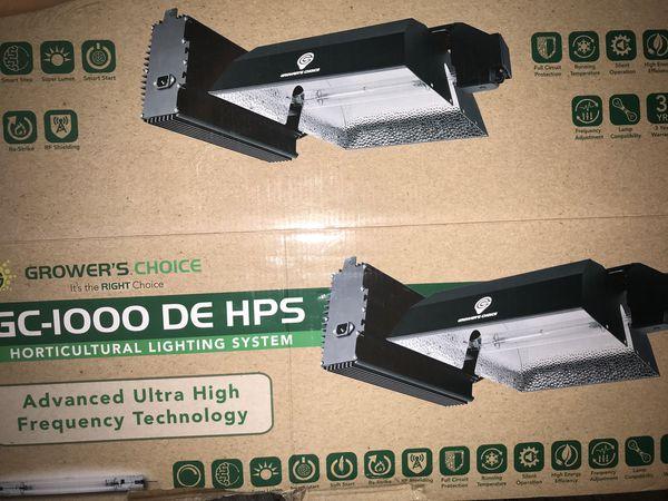 Grow light GC-1000 DE HPS