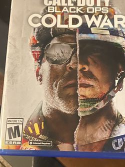 PS5 Call Of Duty Cold War for Sale in Selma,  CA