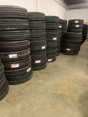 DRC Low Pro 295/75/22.5 tractor trailer tires for Sale in Levittown, PA