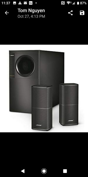 Bose Acoustimass® 5 Series V stereo speaker system for Sale in San Francisco, CA