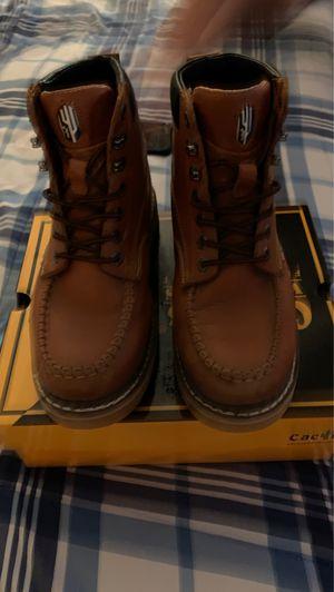 Size 9 work boots for Sale in Hemet, CA