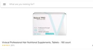 Viviscal PRO advanced hair health for Sale in North Olmsted, OH