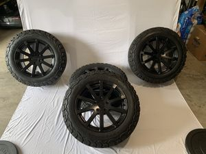 TSW Black Rims w/ BFG AT T/A KO2 - Excellent for Sale in Mill Creek, WA