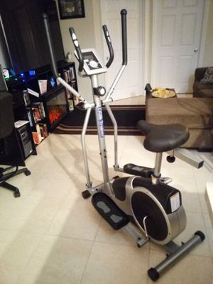 Dual Trainer Elliptical/ Exercise Bike for Sale in Spring Hill, FL